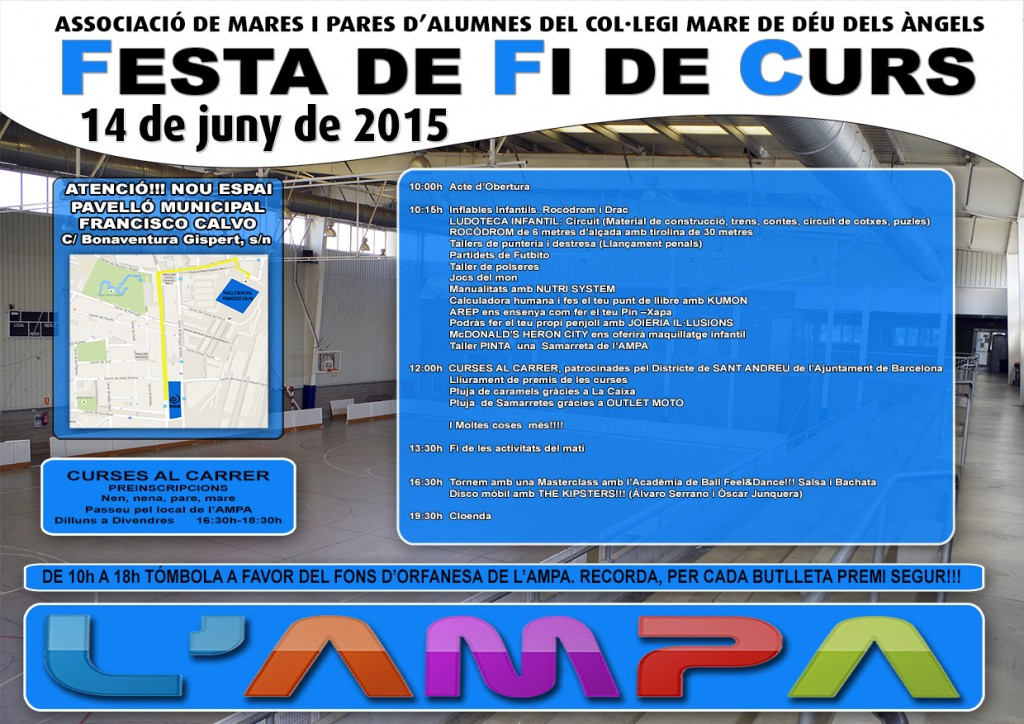 Pòster festa AMPA web